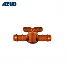 Кран ф16 Кафяв за капково напояване Azud GreenTec