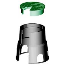 "Шахта за клапани Irritec 6"" / кръгла / D = 15,20 cm"